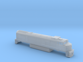 U30cg N scale in Smooth Fine Detail Plastic