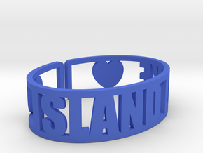 Island Lake Cuff in Blue Strong & Flexible Polished