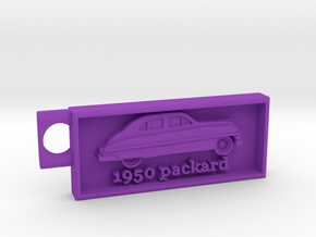 1950 Packard Key chain in Purple Processed Versatile Plastic