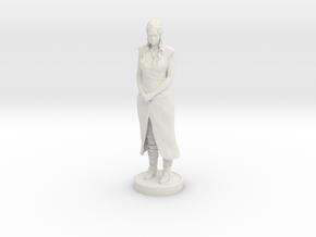 Daenerys Targaryen in White Natural Versatile Plastic