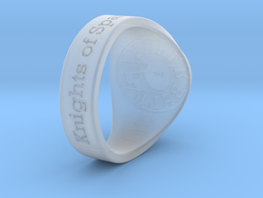 Auperball Tuned Ring Season 1 in Smooth Fine Detail Plastic