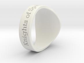 ALTP CHAMP Tuned Ring Season 1 in White Natural Versatile Plastic