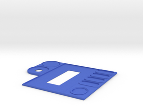 Ship Control Panel in Blue Processed Versatile Plastic