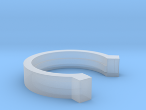 3i Scope Retract Prevention Ring in Smoothest Fine Detail Plastic