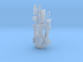 1/10 scale Sentrygun in Smooth Fine Detail Plastic