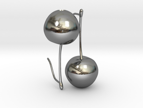Cherry On Top in Polished Silver