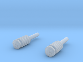 Dental Files in Smooth Fine Detail Plastic