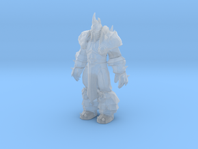 Arthas Lich King neutral pose in Smooth Fine Detail Plastic