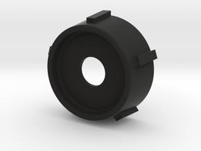 Blender Bottom Ring in Black Natural Versatile Plastic