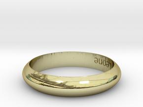 Model-1153e81d63f5136bc91890ead275a918 in 18k Gold