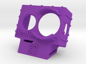 XiaoMI Yi Wedge Case (25deg) in Purple Processed Versatile Plastic