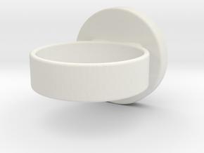 Zelda OoT Spirit Ring in White Strong & Flexible