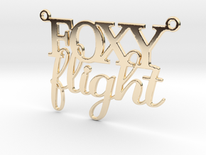 Foxy Flight Necklace in 14k Gold Plated