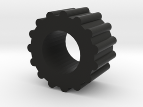 Dial Caliper Knob in Black Natural Versatile Plastic