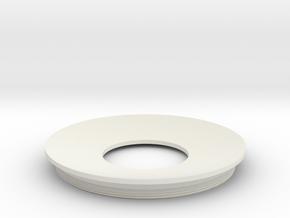 Lieberkuehn Reflector 58mm Dia. 50.8mm WD in White Natural Versatile Plastic