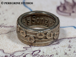 Ring - Epona's Song (Size 13) in Stainless Steel