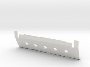 Skid plate front Adventure D90 D110 Gelande 1:10 in White Natural Versatile Plastic