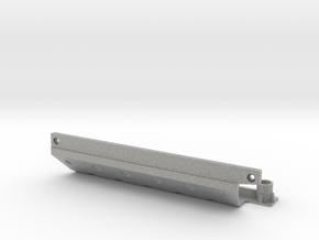 Skid plate right Adventure D90 Gelande 1:10 in Metallic Plastic
