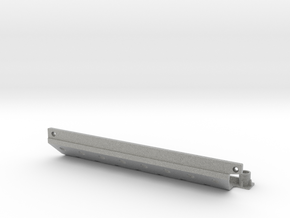 Skid plate right Adventure D110 Gelande 1:10 in Metallic Plastic