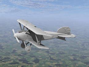 Albatros D.III (OAW late version) in White Strong & Flexible: 1:144