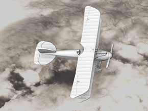 Albatros D.III (early version) in White Strong & Flexible: 1:144
