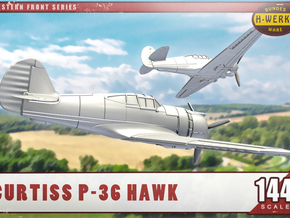 "1/144th - Curtiss 75 ""Hawk"" (P36) in Smooth Fine Detail Plastic"