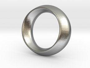 Opus Ring - Bracelet P=180mm in Natural Silver