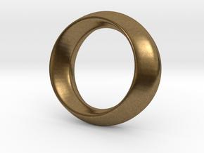 Opus Ring - Bracelet P=180mm in Natural Bronze