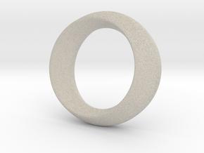 Opus Ring - Bracelet P=180mm in Natural Sandstone