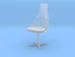 """TOS Chair 115 1:12 Scale 6"""" in Smooth Fine Detail Plastic"""