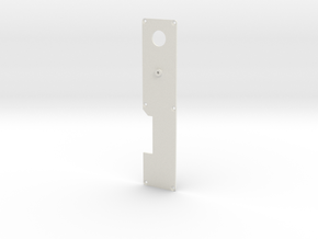 Silent Running: drone arm faceplate in White Natural Versatile Plastic
