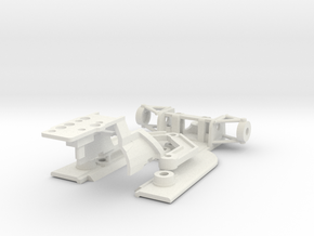Brabham BT44 in White Natural Versatile Plastic