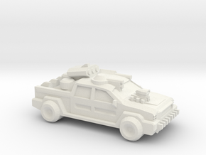 Thunder Road Humongous Truck in White Natural Versatile Plastic