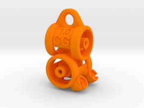 CG-cardan 1.0 in Orange Processed Versatile Plastic