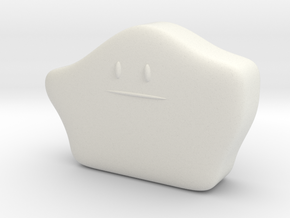 Ditto in White Natural Versatile Plastic