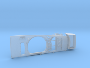 ESB Port Side Wall for DeAgo Falcon Complete (HD) in Smooth Fine Detail Plastic