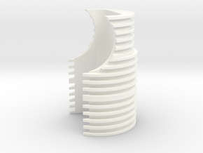 TFA Grill (HFC M712 Version) in White Processed Versatile Plastic