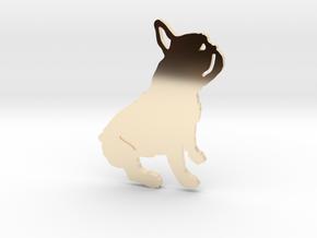 French Bulldog in 14K Yellow Gold