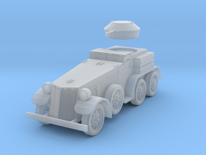 PV39D T4 (M1) Armored Car (1/87) in Smooth Fine Detail Plastic
