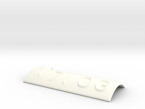 7.OG mit Pfeil nach oben in White Processed Versatile Plastic