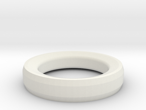 Prototype Ring design 3  for RFID Tag in White Strong & Flexible