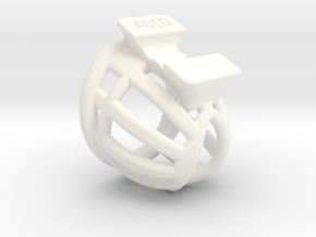 L040-A01D in White Processed Versatile Plastic