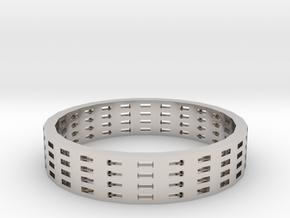 Reel Ring in Platinum