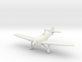 Dewoitine D.510 in White Natural Versatile Plastic: 1:200