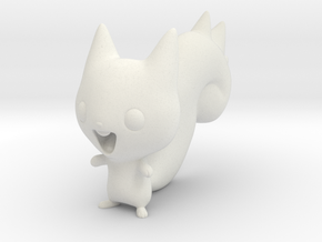 Tiny Pachirisu! in White Natural Versatile Plastic