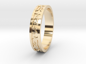 Ring of the Sun Princess in 14K Yellow Gold: 6.5 / 52.75