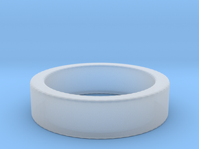 Basic Ring US5 in Smooth Fine Detail Plastic
