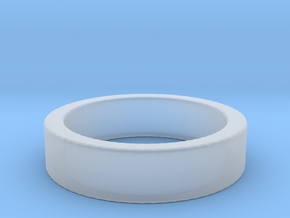 Basic Ring US6 1/4 in Smooth Fine Detail Plastic