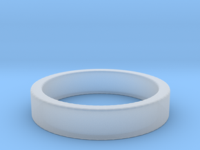 Basic Ring US11 in Smooth Fine Detail Plastic