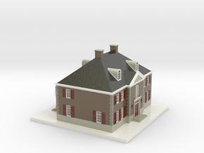 1108010 - Villa Buitenzicht 1:200 in Coated Full Color Sandstone